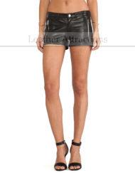Women-Moto-Soft-Lamb-Leather-Short-Front