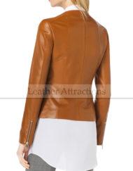 Women-Zip-Front-Leather-Jacket-Back
