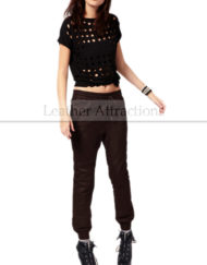 Work-Out-Style-Leather-Pants-Front-Brown