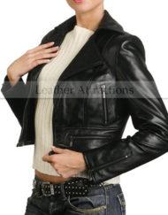 Zipper-Short-Biker-leather-jacket1
